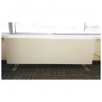ADAX VP10 KTP (295 mm Aukščio | 84 mm Gylio) | Mechaninis termostatas (Pajungimas nuo rozetės, su kojelėmis P, nešiojamas)
