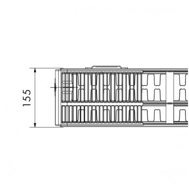 33 VKU TIPAS (155 mm pločio; apatinio pajungimo iš kaires ir dešines) 2