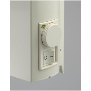 ADAX Aptaškymui atsparūs radiatoriai (325 mm auksčio) Su elektroniniu termostatu, pastovi instaliacija 4