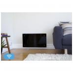ADAX CLEA H/L WiFi (340 mm Aukštis | WiFi termostatas, Pajungimas nuo rozetės, IP24)