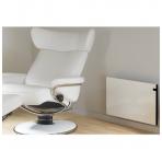 ADAX GLAMOX H30 (370 mm Aukštis | Skaitmeninis termostatas, Pajungimas nuo rozetės, 230V)