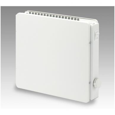 ADAX Aptaškymui atsparūs radiatoriai (280 mm auksčio) Su mechaniniu termostatu, pajungimas nuo rozetės 2