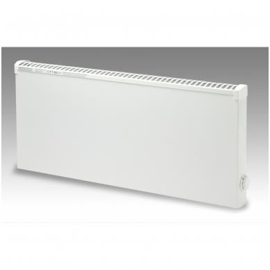 ADAX Aptaškymui atsparūs radiatoriai (325 mm auksčio) Su elektroniniu termostatu, pastovi instaliacija 3