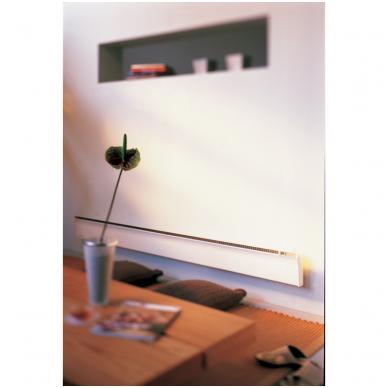 ADAX GLAMOX TLO Elektrinis konvekcinis radiatorius (180 mm auksčio) Su elektroniniu termostatu, pajungimas nuo rozetės, IP20 2