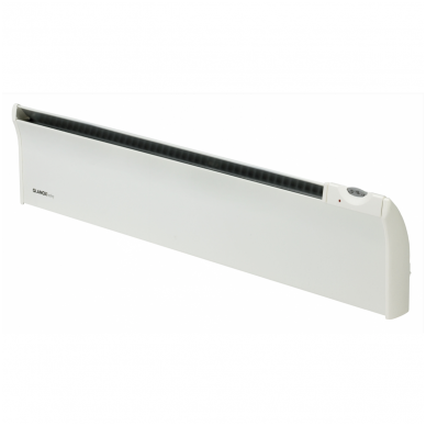 ADAX GLAMOX TLO Elektrinis konvekcinis radiatorius (180 mm auksčio) Su elektroniniu termostatu, pajungimas nuo rozetės, IP20 3