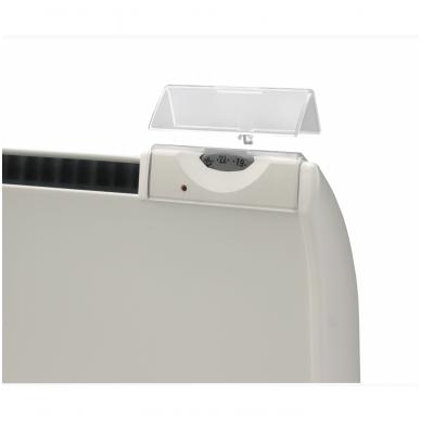ADAX GLAMOX Plastikinis dangtis - termostato reguliavimo apsauga