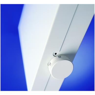 ADAX VP10 ET (295 mm Aukščio | 84 mm Gylio) | elektroninis termostatas (Pastovi instaliacija) 2