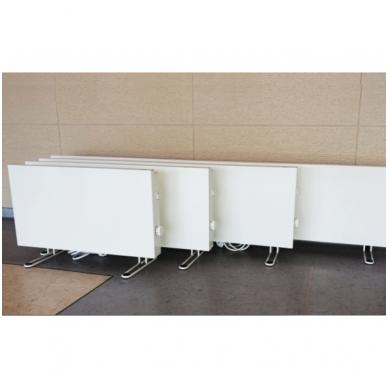ADAX VP10 KETP (295 mm Aukščio   84 mm Gylio)   elektroninis termostatas (Pajungimas nuo rozetės, su kojelėmis P, nešiojamas) 2