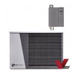 alira LWDV lauke montuojamas dviejų dalių kintamos galios šilumos siurblys oras/vanduo