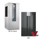 alira LWV ir LWCV viduje montuojami pastovios ir kintamos galios šilumos siurbliai oras/vanduo