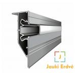 """Aliuminio dvėjų lygių profilis PL-75 su galimybe įmontuoti """"LED juosta"""""""
