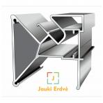 """Aliuminio kontūro profilis dvėjų lygių """"be tarpelio"""""""