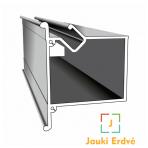 Aliuminio profilis dvėjų lygių NP-5
