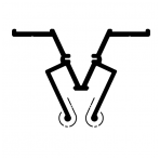 """Aliuminio profilis jungiamasis """"W"""""""