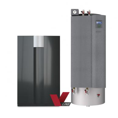 alira LWV ir LWCV viduje montuojami pastovios ir kintamos galios šilumos siurbliai oras/vanduo 13