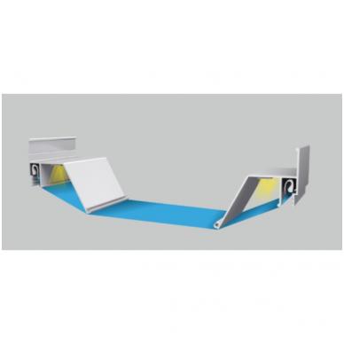 """Aliuminio """"kontūro"""" 3D profilis perimitriniam LED apšvietimui 3"""