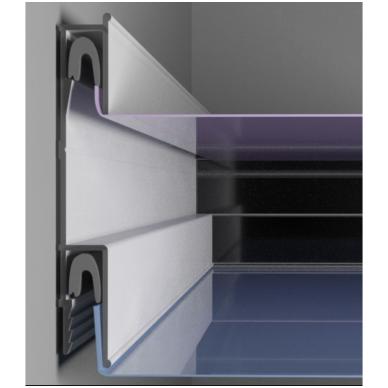 Aliuminio profilis APPLY Nr.40 (2 m ilgio)