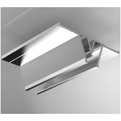 """Aliuminio profilis jungiamasis """"W"""" 2,5 m ilgio"""