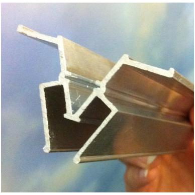 """Aliuminio profilis jungiamasis """"W"""" 3"""
