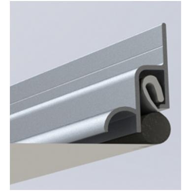 """Naujovė! Aliuminio profilis """"be tarpelio ir užbaigimo juostos"""" KRAAB 3.0 2"""