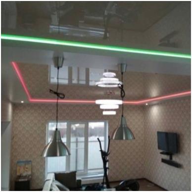 """Aliuminio profilis """"skraidančios linijos"""" LED juostai 4"""
