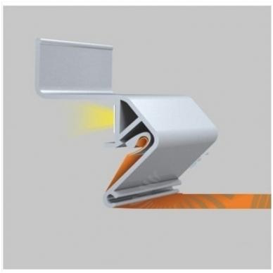 """Aliuminio profilis """"skraidančios linijos"""" LED juostai 5"""