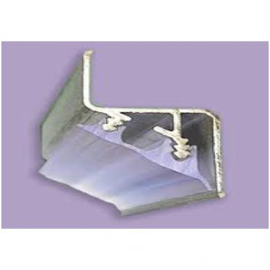 """Aliuminio profilis """"skraidančios linijos"""" Nr.3 LED juostai"""