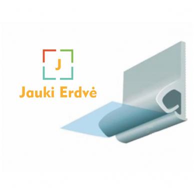 DESCOR-CLIPSO PVC sieninis profilis