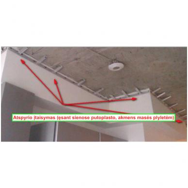 Tvirtinimo konstrukcija profiliui (bėg.m.) 2
