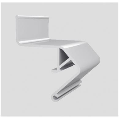 """Aliuminio profilis """"skraidančios linijos"""" LED juostai 3"""