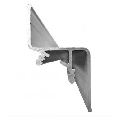 """Aliuminio profilis """"skraidančios linijos"""" Nr.3 LED juostai 4"""