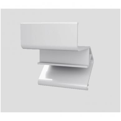 """Aliuminio profilis """"skraidančios linijos"""" LED juostai 10"""