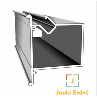 Aliuminio profilis dvėjų lygių NP-5 5