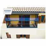 GAZEBOX BALCONY Stoginės balkonams iš Italijos