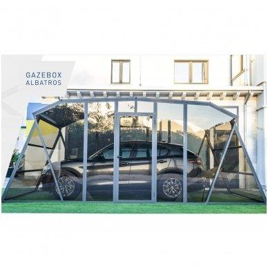GAZEBOX ALBATROS Garažas (Stoginė) automobiliui iš Italijos 5