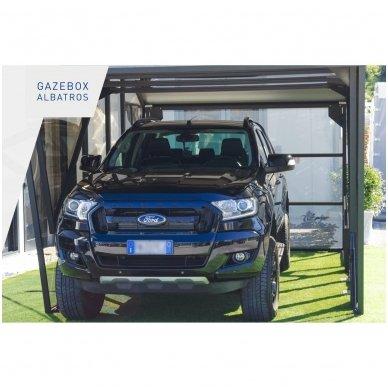 GAZEBOX ALBATROS Garažas (Stoginė) automobiliui iš Italijos 6