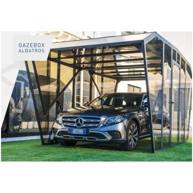 GAZEBOX ALBATROS Garažas (Stoginė) automobiliui iš Italijos 3