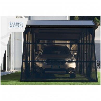 GAZEBOX ALBATROS Garažas (Stoginė) automobiliui iš Italijos 4
