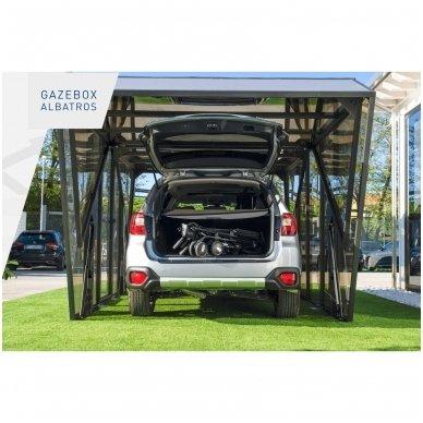 GAZEBOX ALBATROS Garažas (Stoginė) automobiliui iš Italijos 9