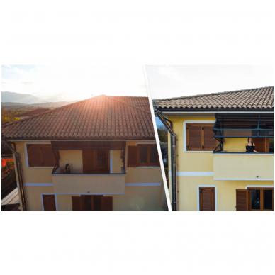GAZEBOX BALCONY Stoginės balkonams iš Italijos 2
