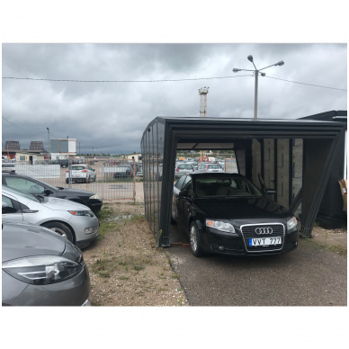 GAZEBOX CAR Garažas (Stoginė) automobiliui iš Italijos 2