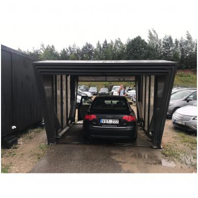 GAZEBOX CAR Garažas (Stoginė) automobiliui iš Italijos 4