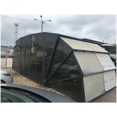 GAZEBOX CAR Garažas (Stoginė) automobiliui iš Italijos 5