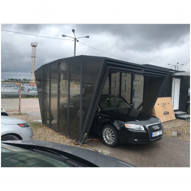 GAZEBOX CAR Garažas (Stoginė) automobiliui iš Italijos