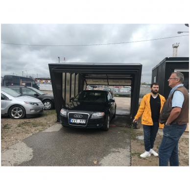 GAZEBOX CAR Garažas (Stoginė) automobiliui iš Italijos 3