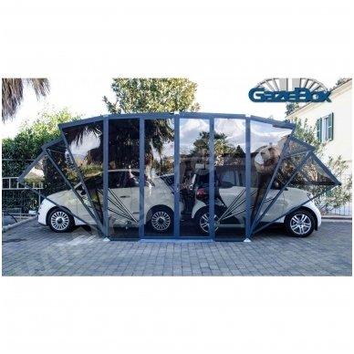 GAZEBOX CAR Garažas (Stoginė) automobiliui iš Italijos 16
