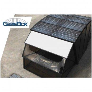 GAZEBOX CAR Garažas (Stoginė) automobiliui iš Italijos 15