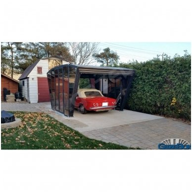 GAZEBOX CAR Garažas (Stoginė) automobiliui iš Italijos 20