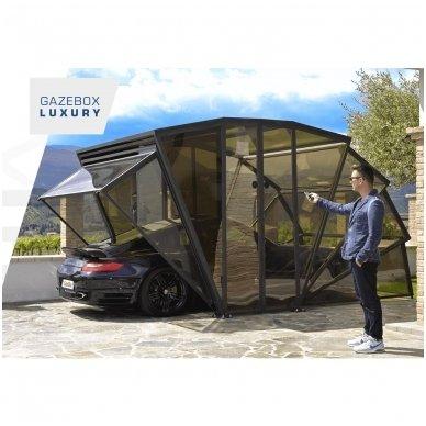 GAZEBOX CAR Garažas (Stoginė) automobiliui iš Italijos 12