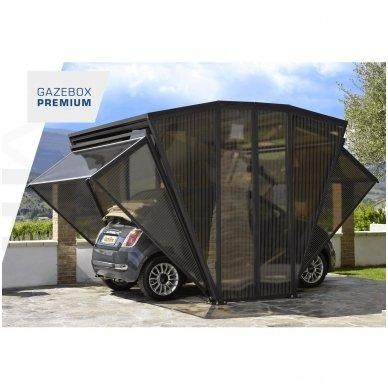 GAZEBOX CAR Garažas (Stoginė) automobiliui iš Italijos 13